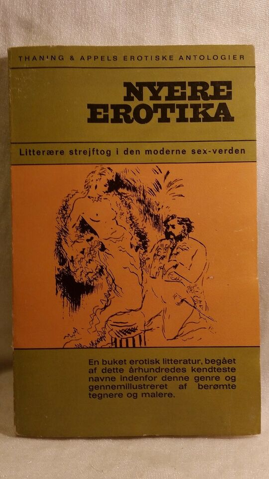 Nyere erotika , Ove Brusendorff, emne: erotik