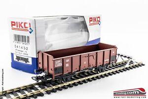 PIKO-54143-2-H0-1-87-Carro-Merci-FS-aperto-tipo-L-4430530-Ep-III