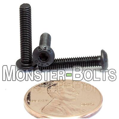 M2-0.40 x 5mm Button Head Socket Caps Screws 12.9 Alloy Steel ISO 7380 10
