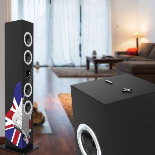 2.1 Subwoofer Musik Turm England Design Multimedia Anlage Bluetooth Schalter