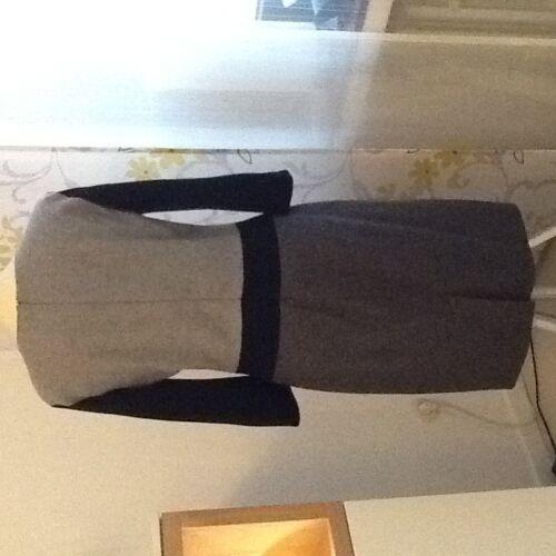 Gr Mal 1 Kleid Getragen Wolle Joop Von Schwarz 36 Grau vB8EAq