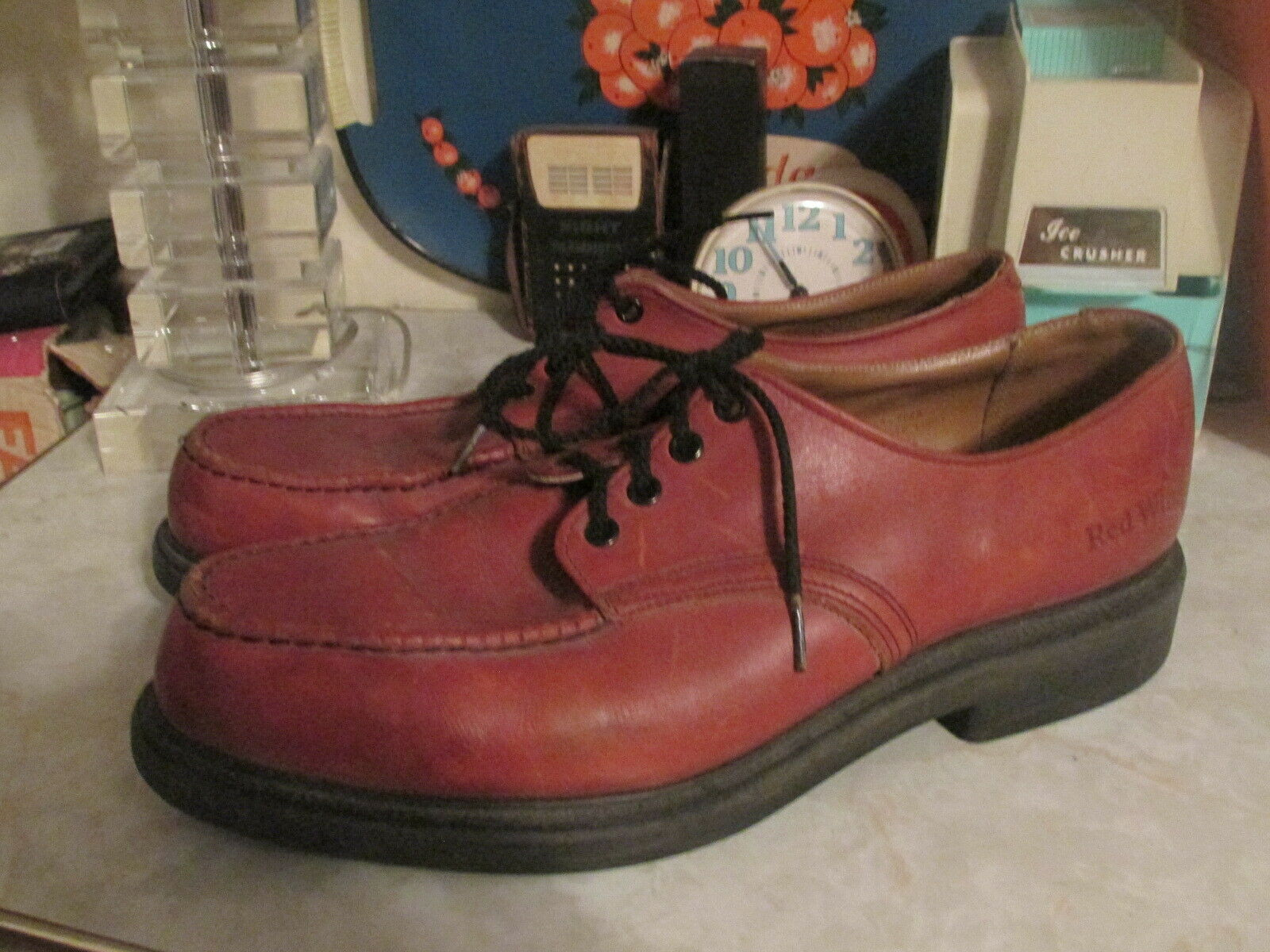 VTG Red Wing Oxford shoes  Leather Men's USA Made 13 D