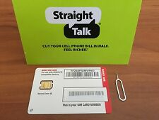 Straight Talk Verizon Nano SIM Card for Bring Your Own Phone BYOP W LTE 4G
