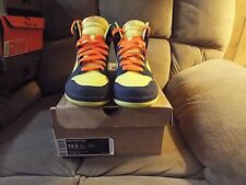RARE MEN'S NIKE DUNK HIGH 317982-772 HOMER SIMPSON SIZE 10.5 NICE!