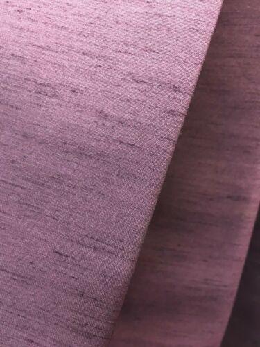 Belfield silky texture purple curtain fabric material 137 cm wide