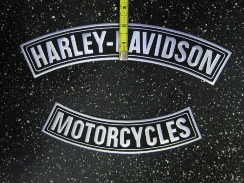 "12"" HARLEY DAVIDSON MOTORCYCLE ROCKER PATCHES"