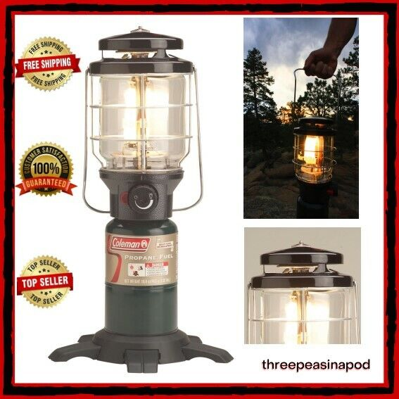 Coleman NorthStar 2000026602NP 1500lm Propane Gas Lantern with Case for sale online