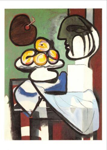 1932 DACS Pablo Picasso Still Life: Bust 93L Art Postcard Bowl /& Palette