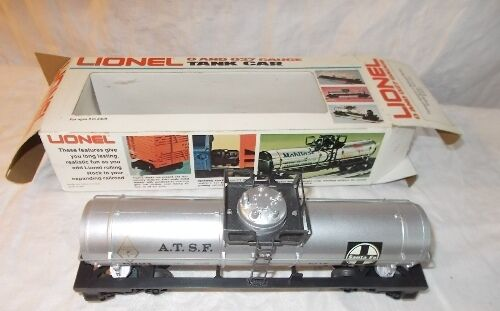 Vintage LIONEL Famous American Railroad Series Single Dome Tank Car  6-9321 w OB