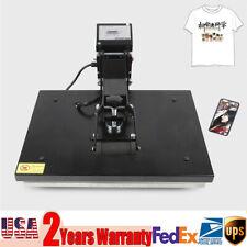 16 X 20 Clamshell Heat Press Machine Diy T Shirt Sublimation Digital Transfer