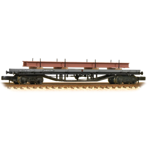 Graham-Farish-373-926D-N-Gauge-BR-Grey-Bogie-Bolster-C-Wagon