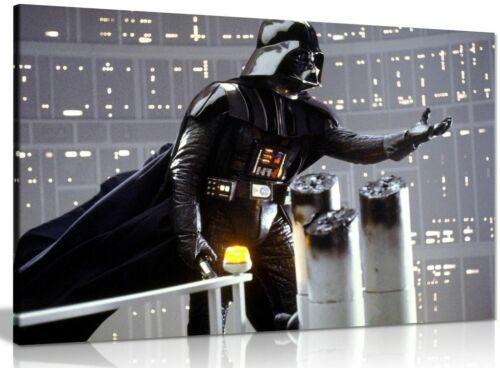 Star Wars Darth Vader Bridge Canvas Wall Art Picture Print