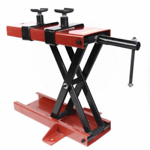 1100 Lb Mini Scissor Lift Jack Atv Motorcycle Dirt Bike Scooter Crank Stand New