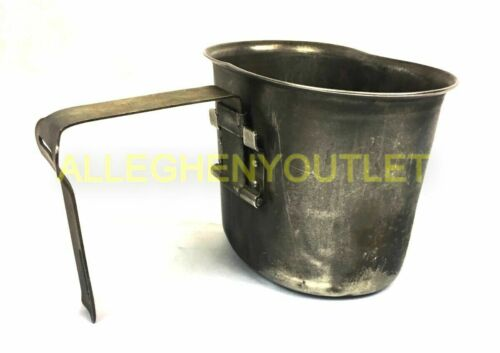 Vietnam Era Stainless Steel Canteen Cup US Military Vintage WWII Korean War