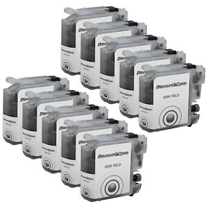 10-LC103-for-Brother-LC103XL-BLACK-High-Yield-Ink-Cartridge-MFC-J870D-MFC-J875DW
