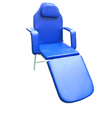 Dental Folding Chair Portable With Carry Case Blue