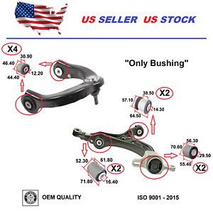 Control Arm Bushing Lower For Jeep Cherokee Dodge Durango 2011-2015 Set 6