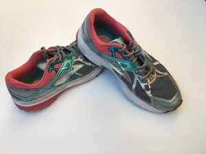 Brooks-Ravenna-7-Silver-Blue-Pink-Gray-Women-039-s-US-Size-8-Med-Running-Shoes