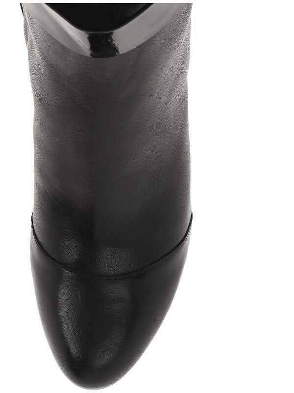 300 300 300 Cole Haan Miriam Tall Black Leather Fashion Zip BOOTS Womens 8.5 NEW IN BOX 0f55cf