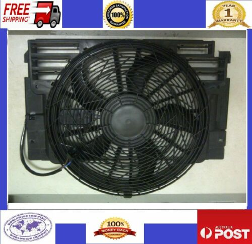 CONDENSER THERMO FAN MOTOR ASSEMBLY BMW E53 X5 3.0i 3.0d 4.4i 4.8i 64546921381