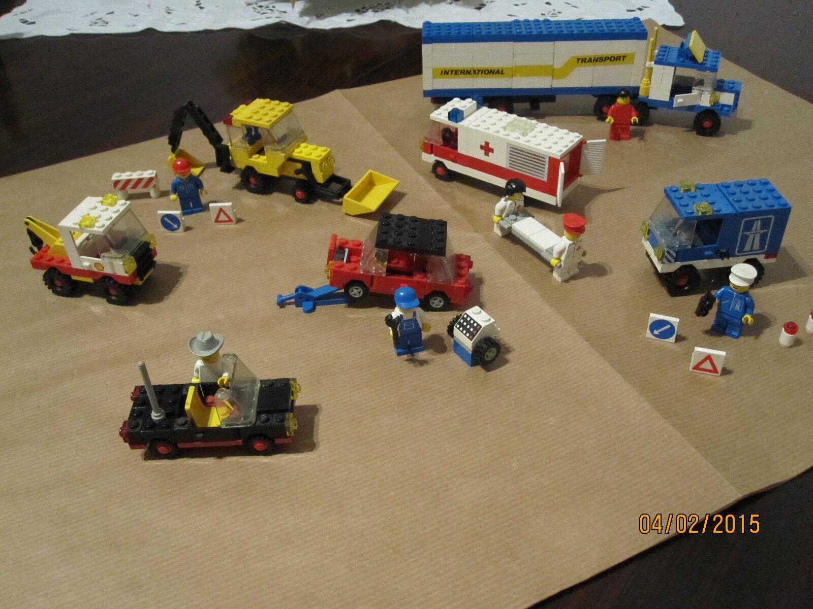 rivenditore di fitness LEGO - Set 192(1977) 192(1977) 192(1977) 6302 6680 6627 Completi  1981-84  incentivi promozionali