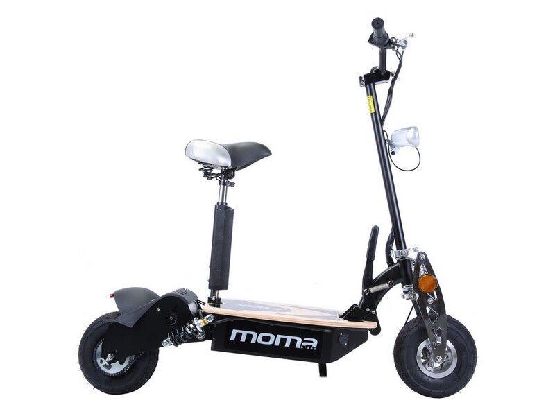 Monopattino Scooter Elettrico 2100W pieghevole, freni a disco e doppia sospens.