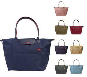94aaf6e39f Longchamp Le Pliage Club Regular 1899 Nylon Tote Bag Shopping Bag Sz ...