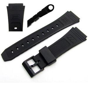 Watch-strap-19mm-to-fit-Casio-Data-Bank-DB30-DB31-DB55-DBW101-DBA80-AB11