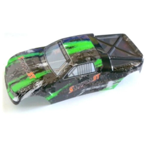 12813 12812 HBX part 12685 Truggy Body Green for 1//12 RC Truggy Truck 12811B