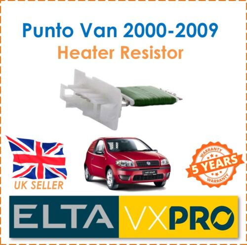 For Punto Van 188/_ 1.2 60 1.3 JTD 2000-2009 ELTA Interior Heater Blower Resistor