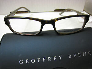 Geoffrey Beene Antiquity Eyeglass Frames : GEOFFREY BEENE EYEGLASS FRAMES Style EDITOR in TORTOISE 52 ...