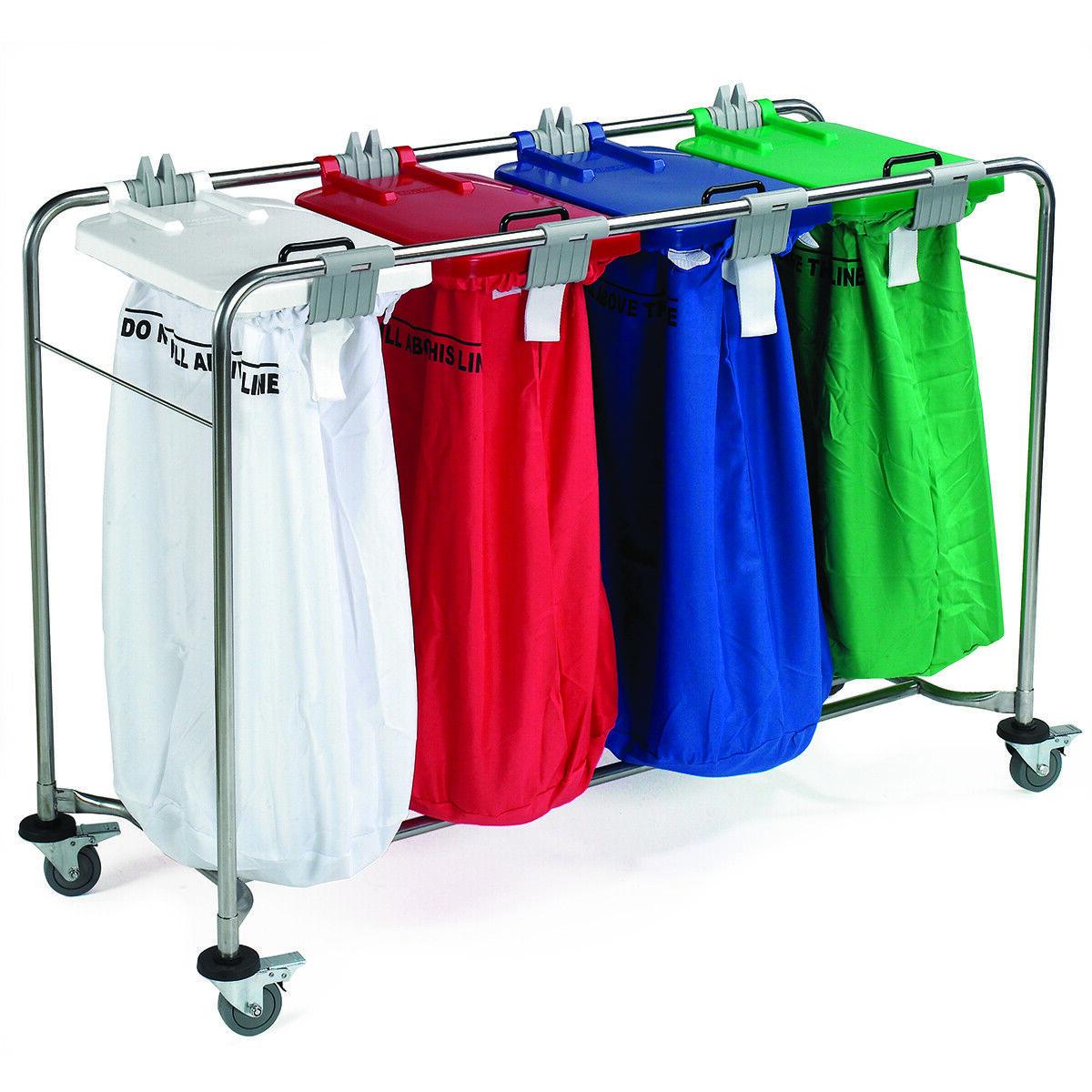 Medi Cart Laundry Trolley - 4 Bag