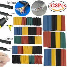 328PCS Heat Shrink Tube 2:1 Heatshrink Tubing Sleeving Wire Cable Wrap Sleeve UK