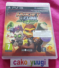 RATCHET & CLANK ALL 4 ONE SONY PS3 PROMO NOT FOR SALE BON ETAT