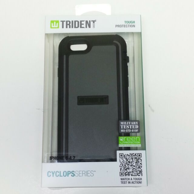New Trident Cyclops Green Protective Case Rugged Armour For Apple Iphone 6 6s Cell Phone Accessories