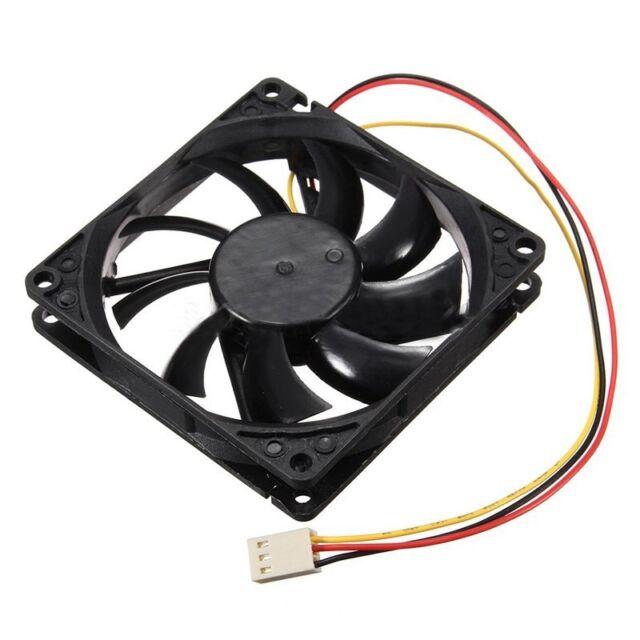 12V 3 Pin CPU Fan Heatsink Cooler Heatsink Fan For PC 80x80x15mm U8Y9