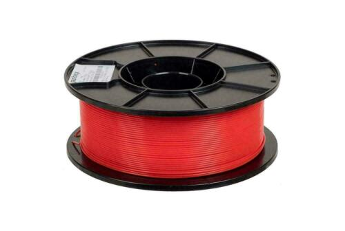 JANBEX 3D Printer Filament 1.75mm RED 0.02 NEW 1KG Spool Filament PLA