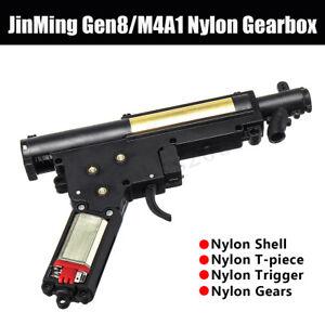 Upgrade-Nylon-Gearbox-T-piece-Motor-For-Jinming-Gen8-M4A1-Gel-Ball-Blaster-Toy