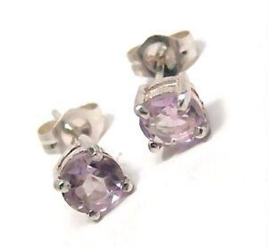 Genuine-Amethyst-Earrings-Sterling-Silver-5mm-0-66-carats