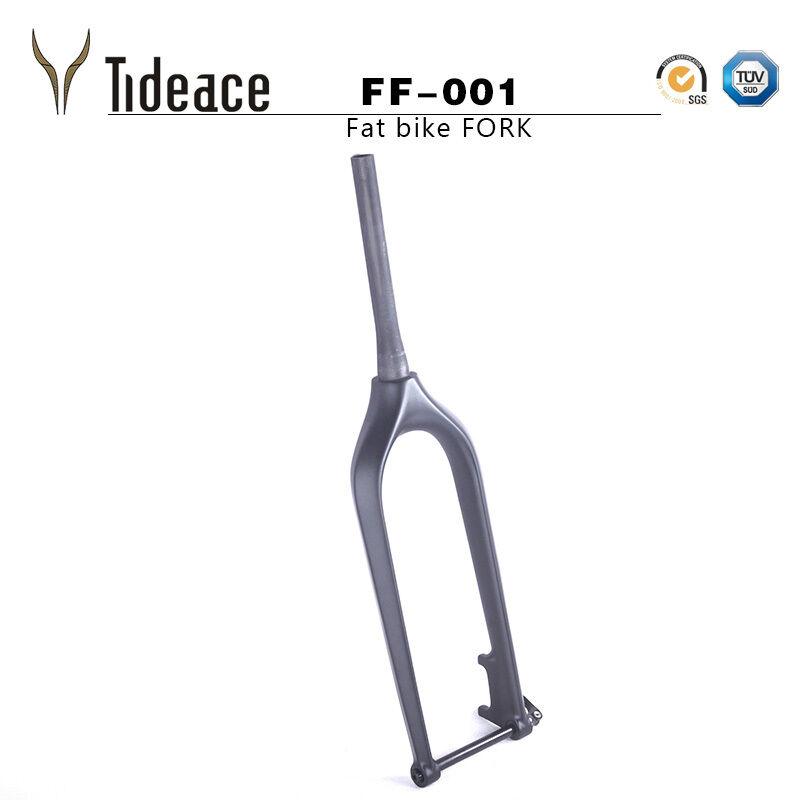 26er Full Carbon Fiber Fat Bicycle Forks T800 Snow Bike Front Forks OEM