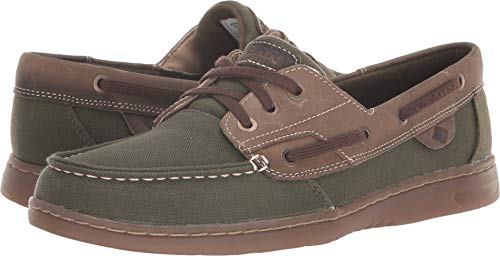 Sperry Top-Sider Wouomo rosafish Surplus Olive Timberwolf Dimensione 6