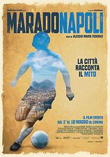 MARADONAPOLI MANIFESTO DIEGO ARMANDO MARADONA NAPOLI CALCIO ALESSIO FEDERICI