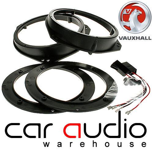Vauxhall Astra G 1996-2004 Front Door Car Speaker Ring Adaptors 13cm//17cm
