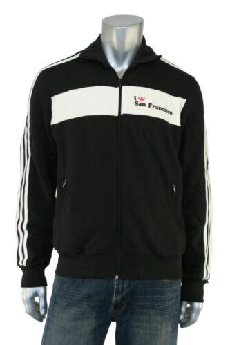 726694f5318c Nuevo Negro Adidas Originals I Chaqueta Trébol Chándal Francisco M San  fqz75q