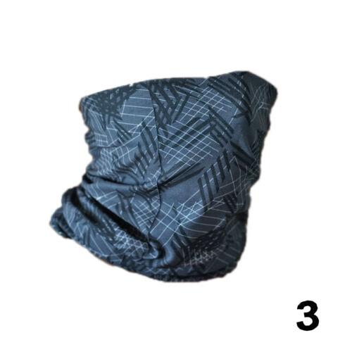 Multifunktionstuch Schlauchtuch Outdoor Halstuch Schal Nasen-Mundbedeckung