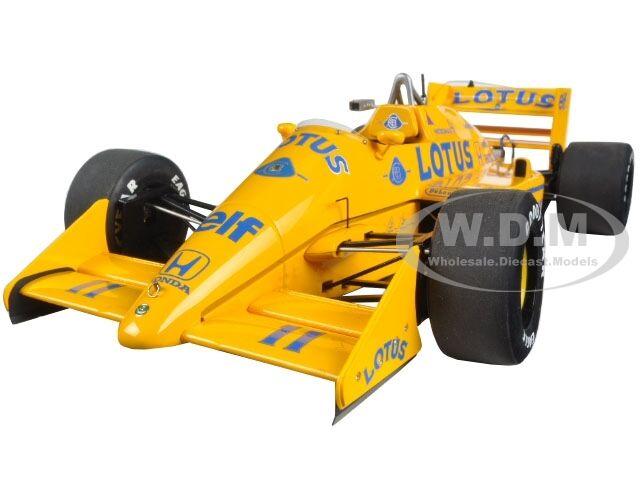 LOTUS 99T HONDA F1 JAPANESE GP 1987 S. NAKAJIMA  18 MODEL BY AUTOART 88726