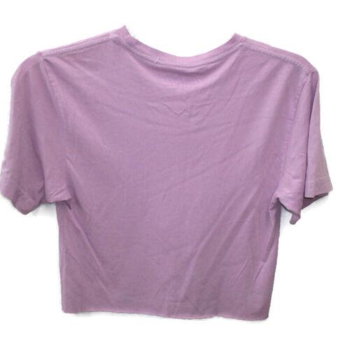 Grape Fanta Cropped Tee T-shirt Purple Size Large BRAND NEW