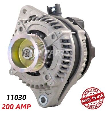 200 AMP 11392 Alternator NEW Honda Accord Crosstour High Output Performance HD