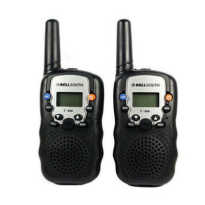 HOT New 1 Pair Of Portable Wireless Walkie-talkie Set Eight Channel 2 Way Radio