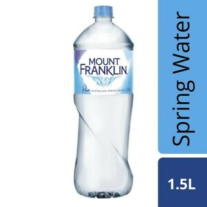 Mount Franklin Pure Spring Water 1.5L